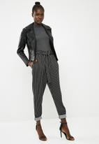 dailyfriday - Turtle neck 2 pack bodysuits - white & charcoal