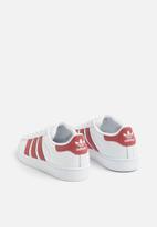 adidas Originals - Kids superstar c - white & pink