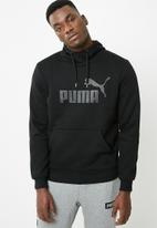 PUMA - ESS hoodie - black