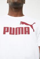PUMA - ESS tee - white