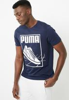 PUMA - Puma track tee - navy