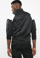 Superbalist - Cut & sew tracktop - black