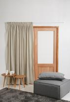 Sixth Floor - Taped unlined curtain - natural