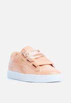 PUMA - Basket Heart patent - dusty coral