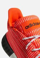 adidas Originals - Tubular Dusk - solar red/ftwr white/core black