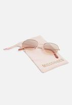 Missguided - Circular circular sunglasses - bronze
