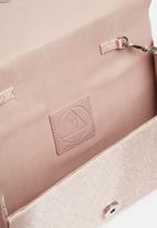 Missguided - Tassel trim cross body bag - pink