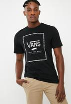 Vans - Print box tee - black & white