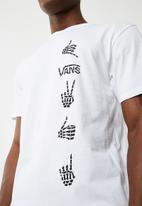 Vans - Boneyard tee - white