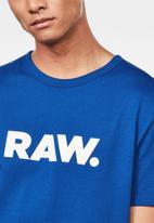 G-Star RAW - Holorn tee - blue