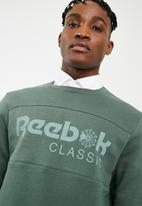 Reebok Classic - Iconic crew sweat - green