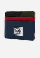 Herschel Supply Co. - Charlie wallet - navy/red