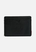 Herschel Supply Co. - Charlie leather wallet - black