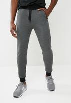 basicthread - Panel gym sweat pant - grey