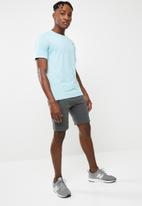 basicthread - Panel gym sweat shorts - grey