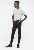 Superbalist - Pique short sleeve 2 pack slim fit polo - black & grey
