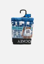 Jockey - Trendz pouch trunk 2 pack - blue