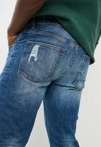 Superbalist - Slim ripped jeans - blue