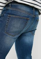 Superbalist - Skinny knee rips jeans - blue