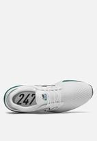 New Balance  - MS247TW - white / teal