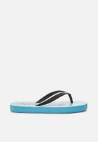 Cotton On - Printed flip flops - blue