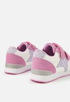 Cotton On - Colour change trainers - pink & white