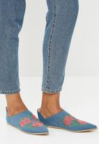 Footwork - Tabitha slip-on - blue