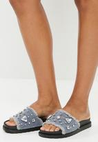 Footwork - Minnie - blue