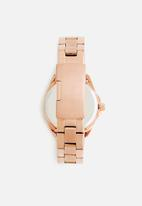dailyfriday - Samira chain watch - rose gold