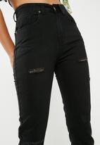 dailyfriday - Classic mom jeans - black