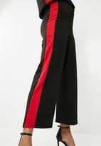 Superbalist - Pull on knit culotte - black