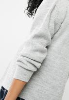 Superbalist - Chunky oversized cardigan - grey