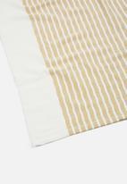 Hertex Fabrics - Laguna towel - star fish mustard