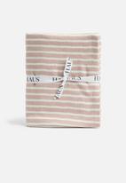 Hertex Fabrics - Laguna towel - salmon rust