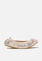Cotton On - Kids girls primo shoes - gold