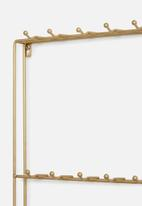 Present Time - Kitchen rack - gold