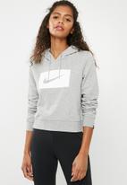 Nike - Swoosh hoodie - grey