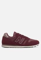 New Balance  - ML373BGM - burgundy & white