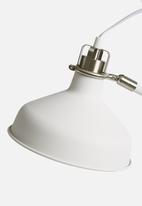 Present Time - Copious floor lamp - white
