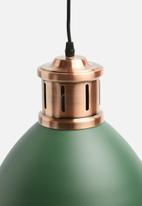 Present Time - Refine pendant lamp - pine green