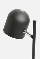 Present Time - Delicate table lamp - matte black