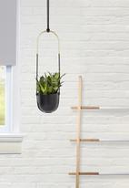 Umbra - Bolo planter - black