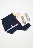 Cotton On - Kids kikii trackpants - navy