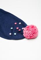 Cotton On - Kids pom pom scarf - multi