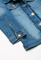 MINOTI - Kids girls denim jacket - blue