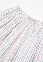 MINOTI - Kids girls candy stripe skirt - multi