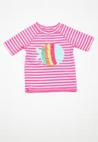 MINOTI - Kids girls rash and knickers set - pink