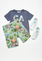 MINOTI - Kids boys AOP woven shorts - mutli