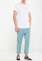 Cotton On - Drake roller pant - blue