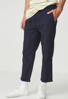 Cotton On - Drake roller pant -  navy